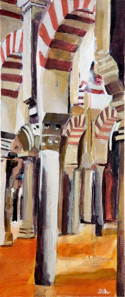 """2523 Mezquita-Catedral de Córdoba"" original fine art by Dietmar Stiller"