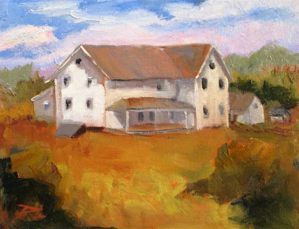 """Farm House"" original fine art by Delilah Smith"