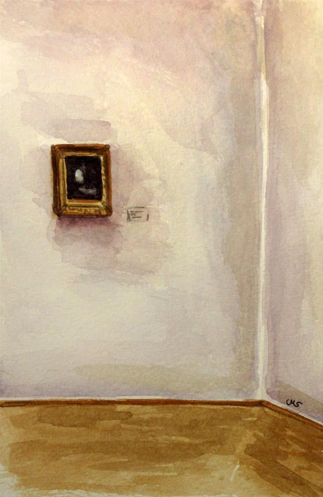 """At the Albertinum"" original fine art by Ulrike Miesen-Schuermann"
