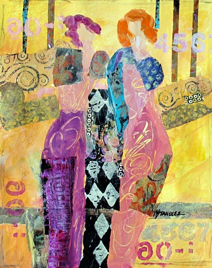 """California Dreaming, 12110 SOLD"" original fine art by Nancy Standlee"