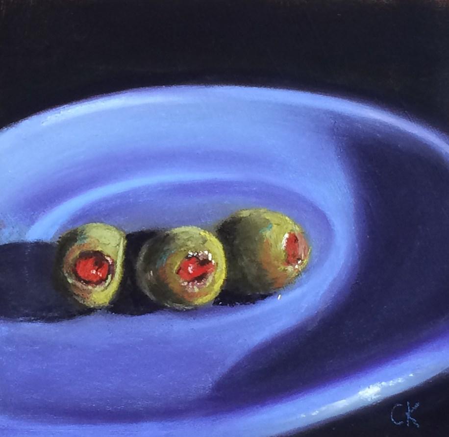 """Triplets II"" original fine art by Cristine Kossow"