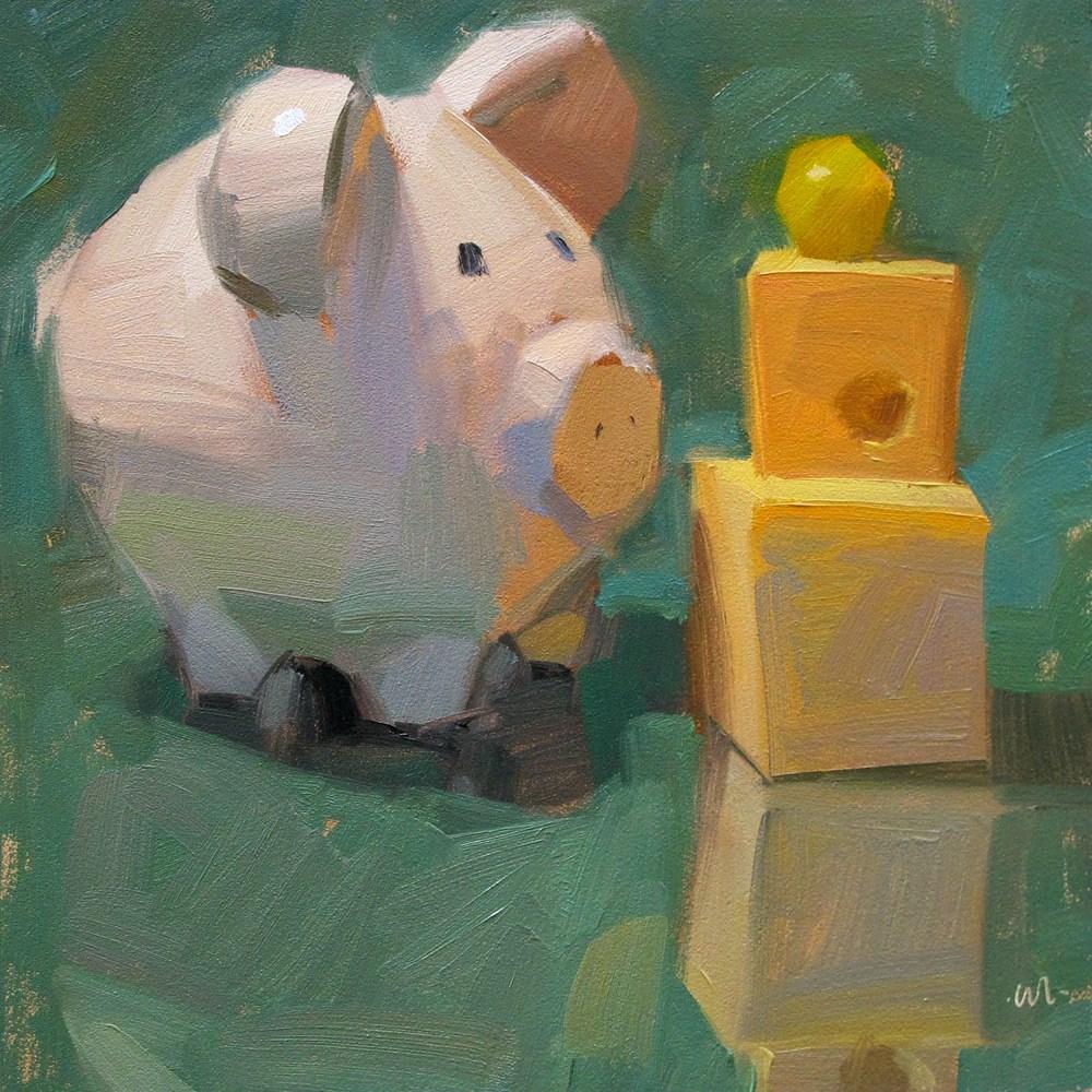 """""""Grape Fixation"""" original fine art by Carol Marine"""