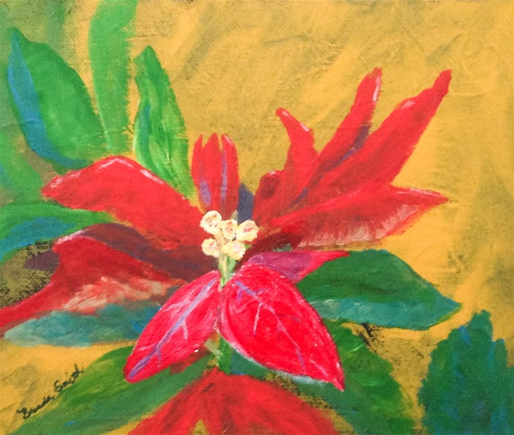 """Christmas Card Project 4"" original fine art by Brenda Smith"