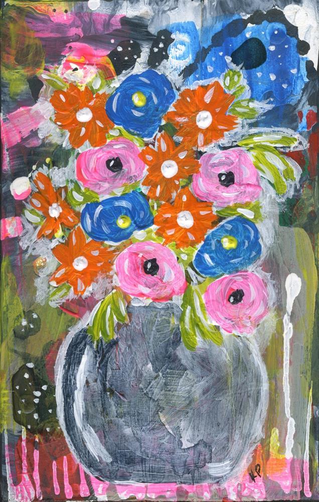 """Beauty Still Remains"" original fine art by Kali Parsons"