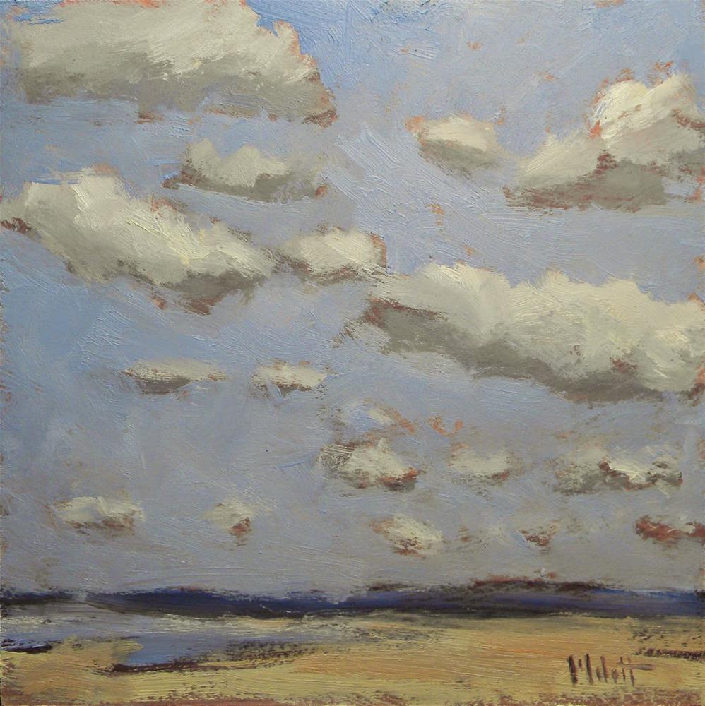 """""""Seaside Skies Spring Vacation Series"""" original fine art by Heidi Malott"""