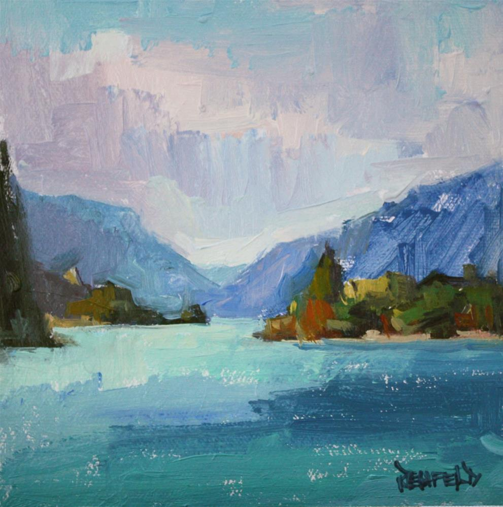 """The Columbia Gorge"" original fine art by Cathleen Rehfeld"