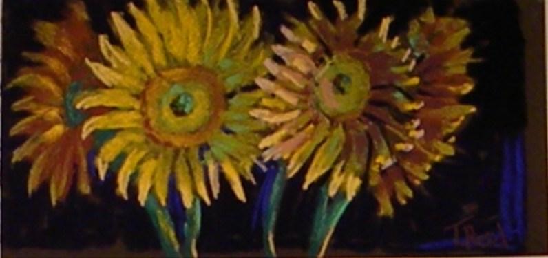 """Happy Faces"" original fine art by Toby Reid"