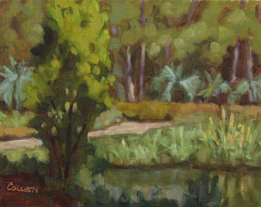 """On the River"" original fine art by Colleen Parker"