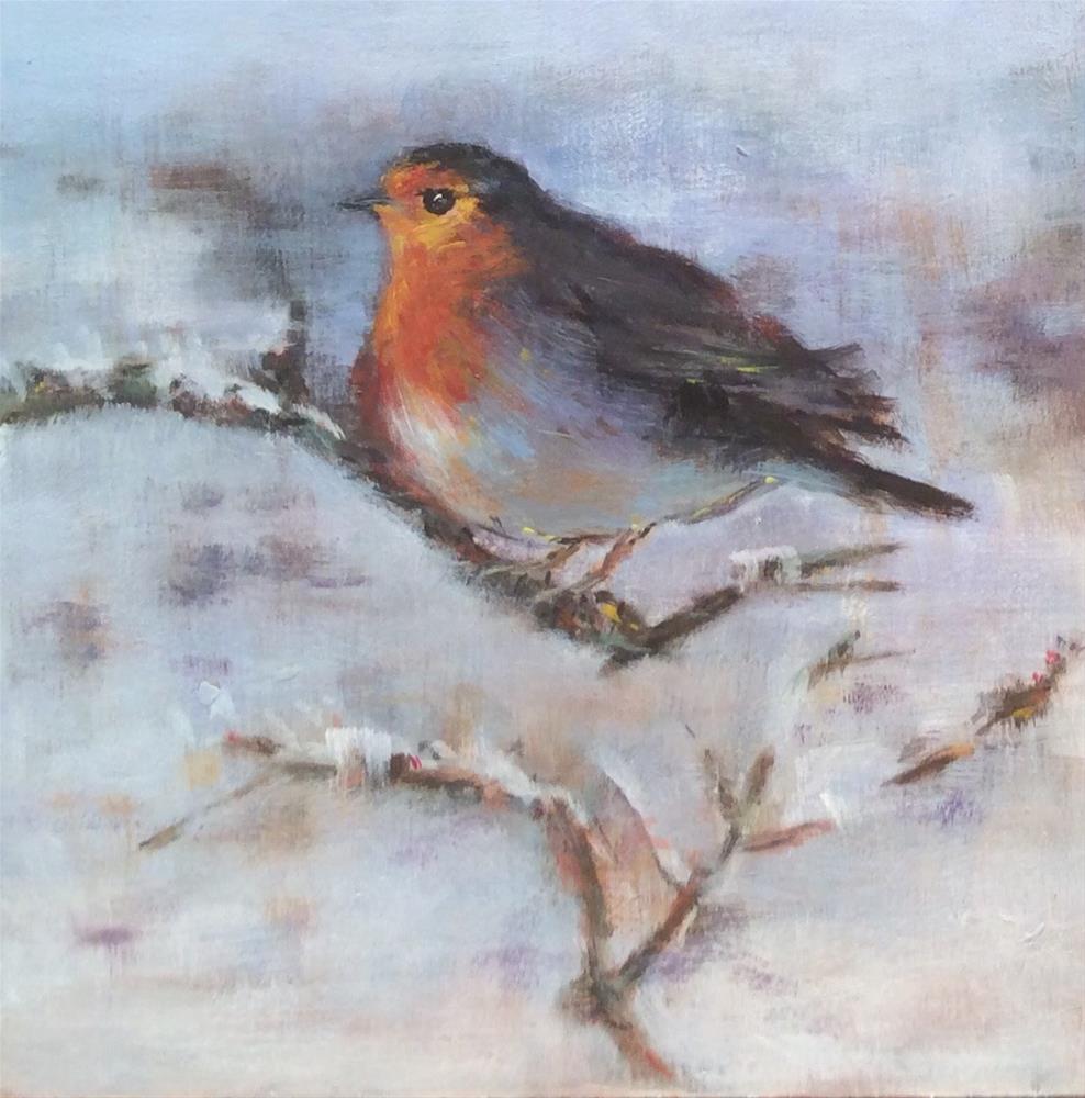 """Facing Winter"" original fine art by wendy black"