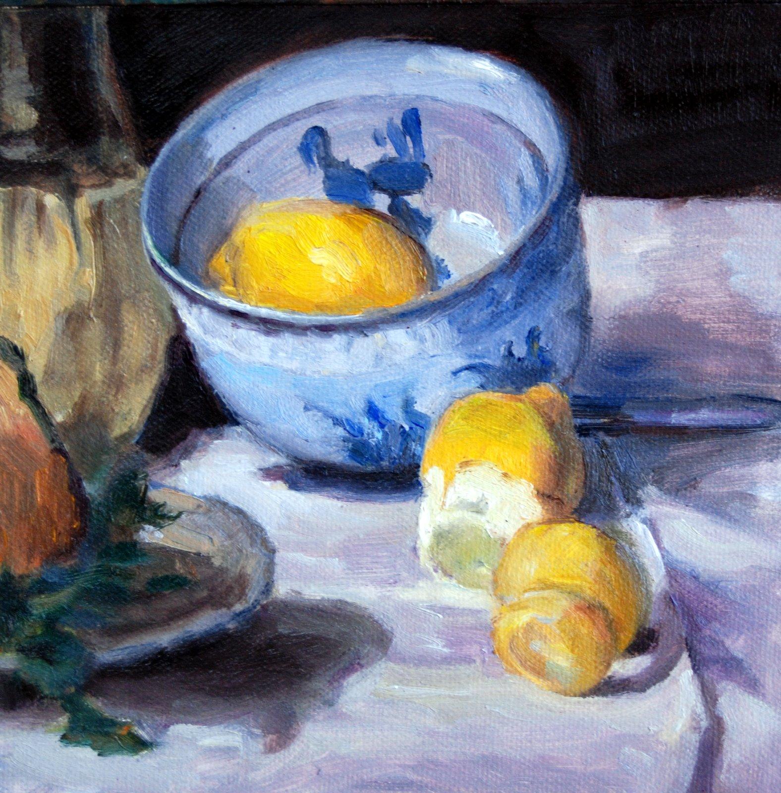 """""""Manet Copy"""" original fine art by Julie Ford Oliver"""