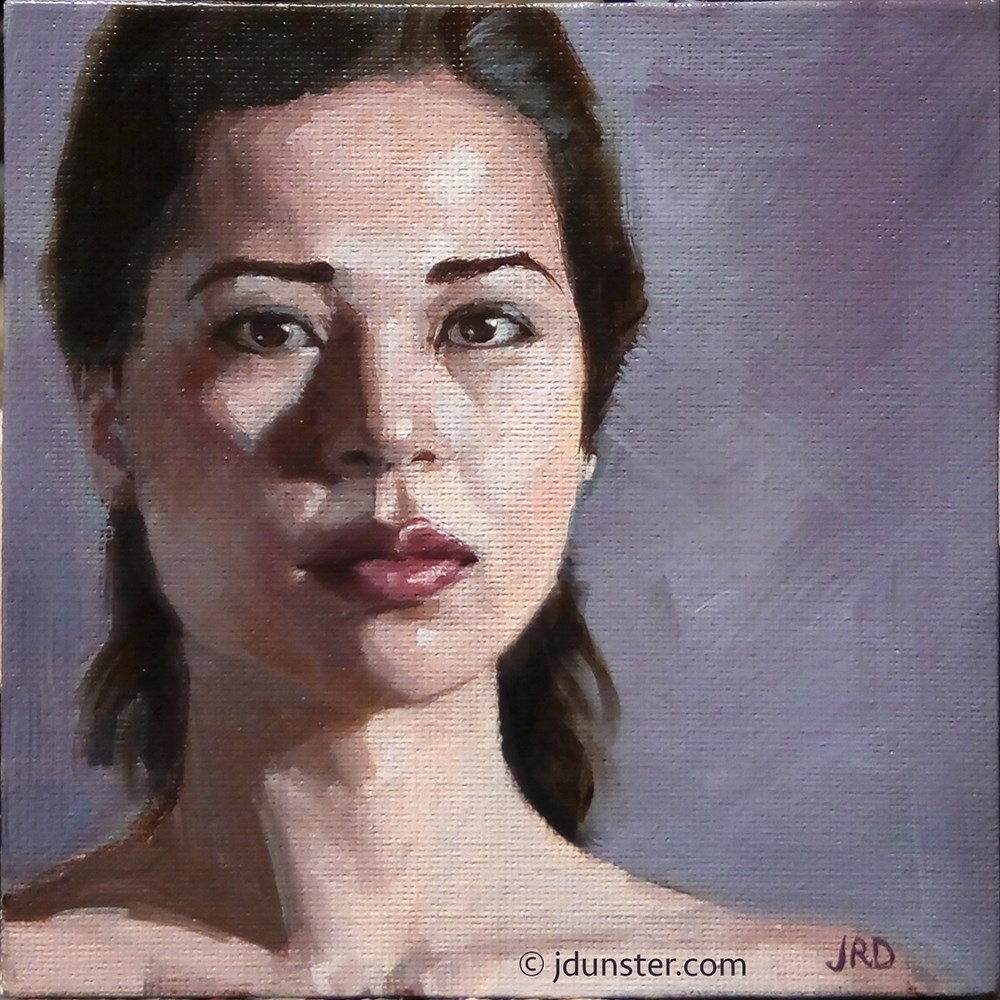 """Porcelain Skin"" original fine art by J. Dunster"