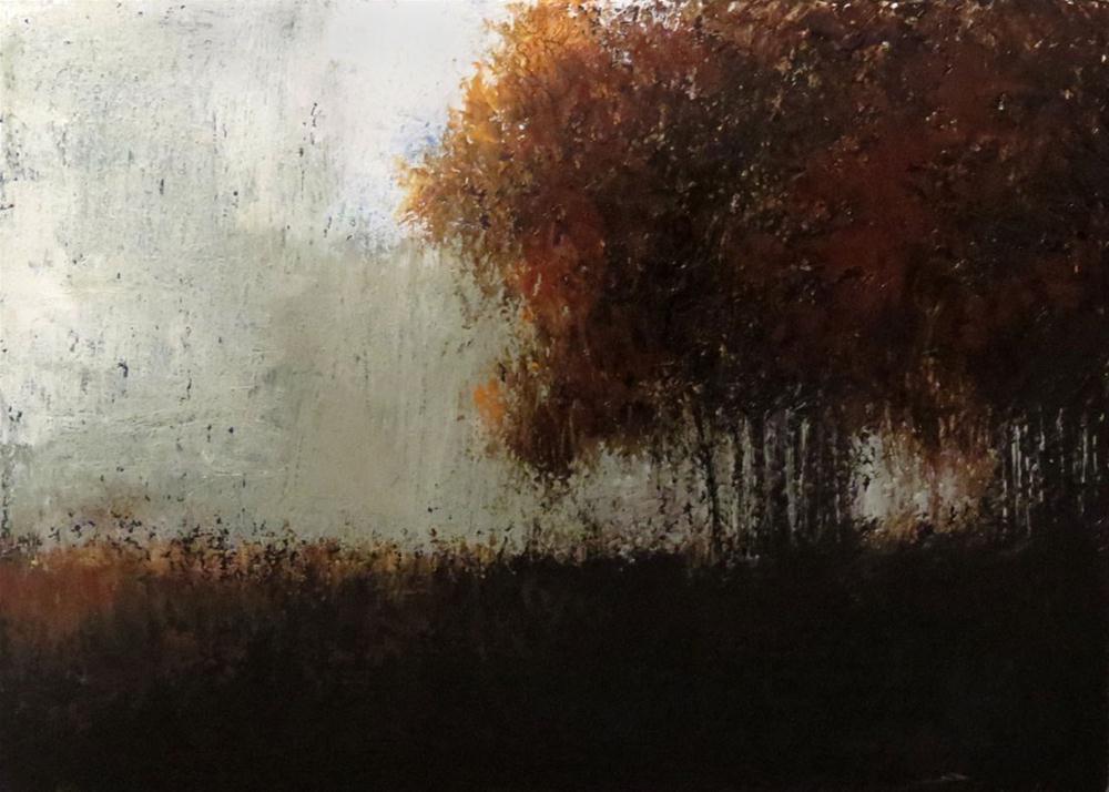 """Forest Edge"" original fine art by Bob Kimball"