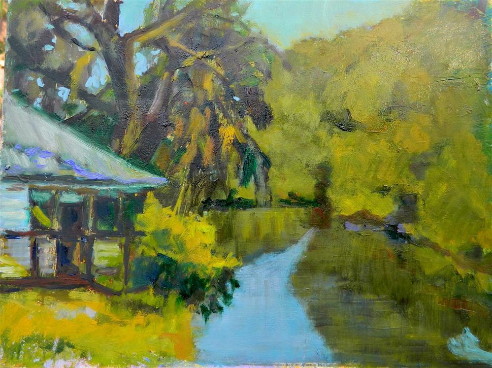 """Snook Haven"" original fine art by Sharon Yarbrough"