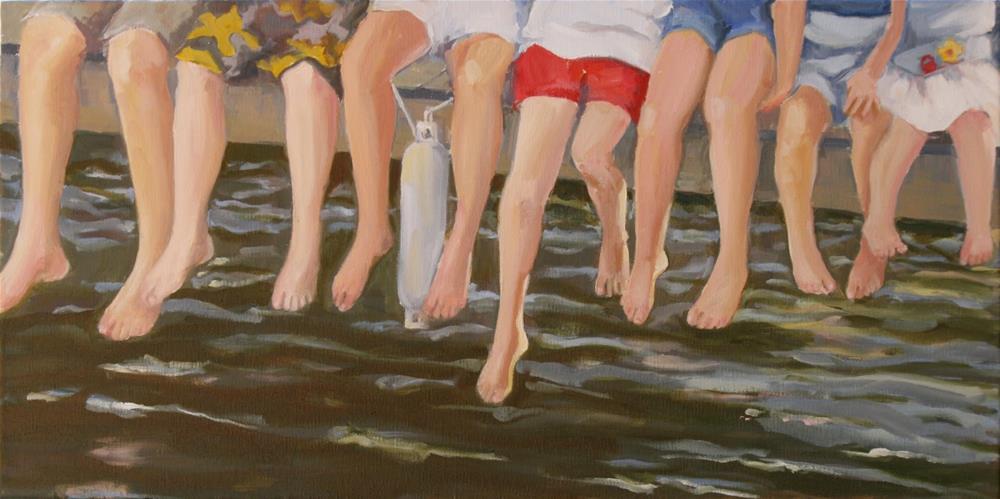 """lucky 7"" original fine art by Carol Carmichael"