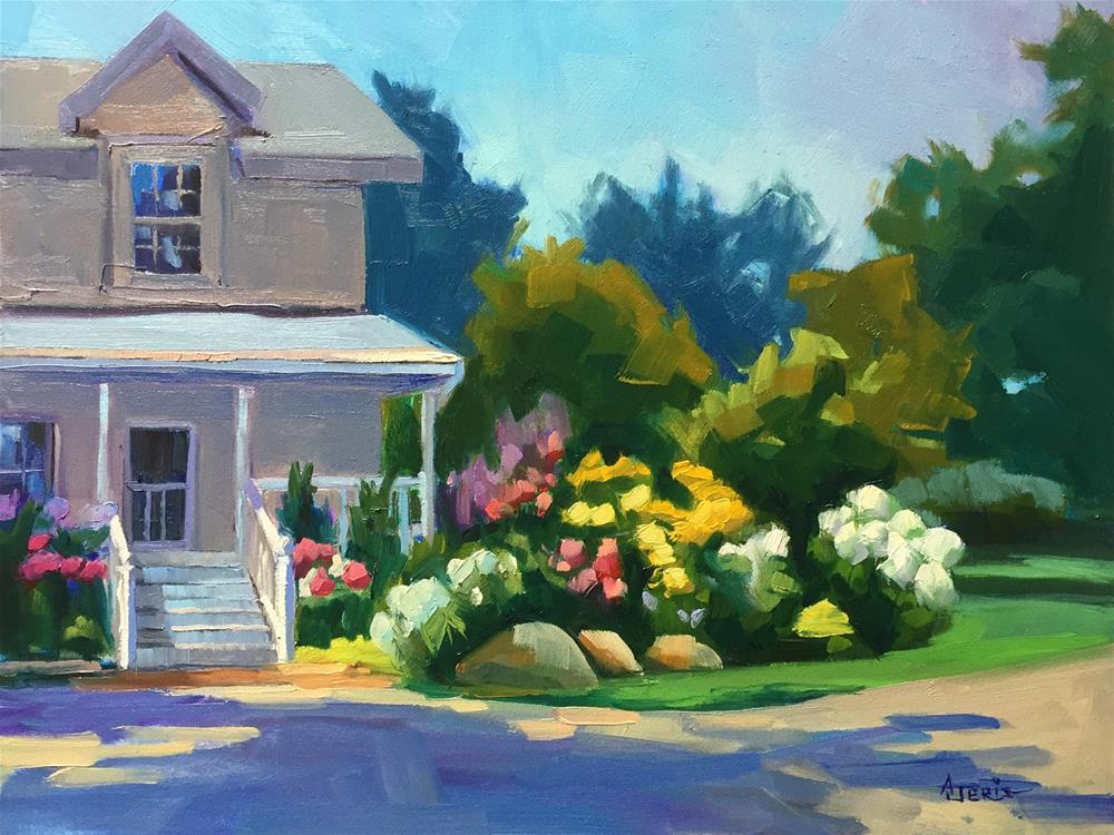 """Garden Tour"" original fine art by Andrea Jeris"