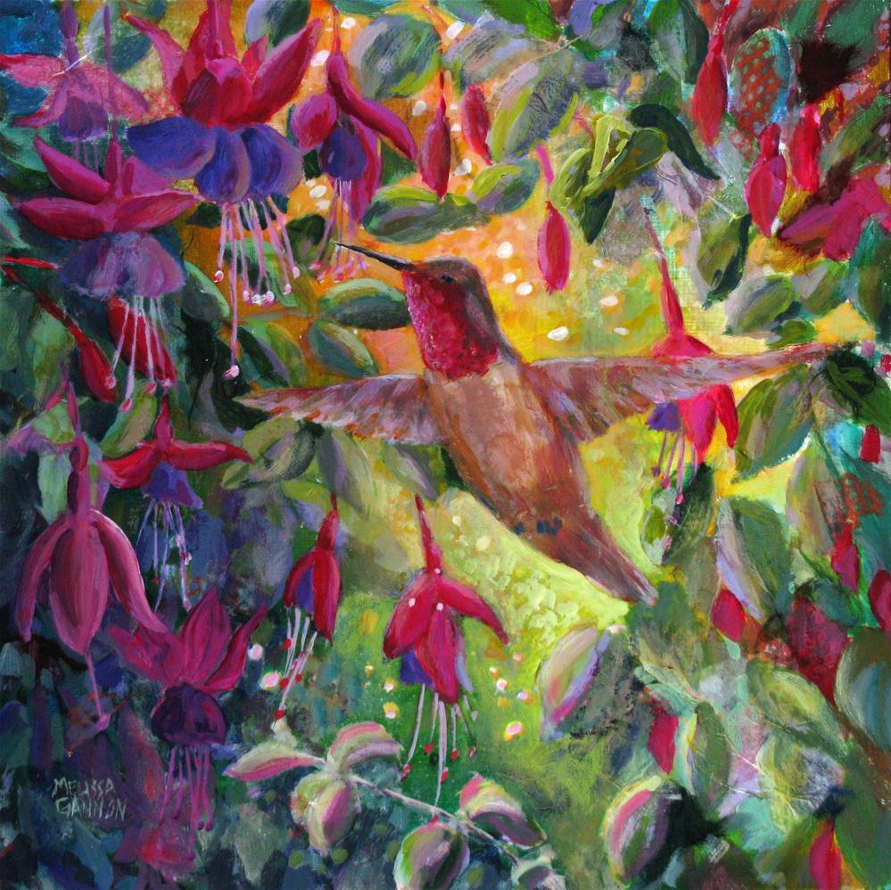 """Suspended Moment"" original fine art by Melissa Gannon"