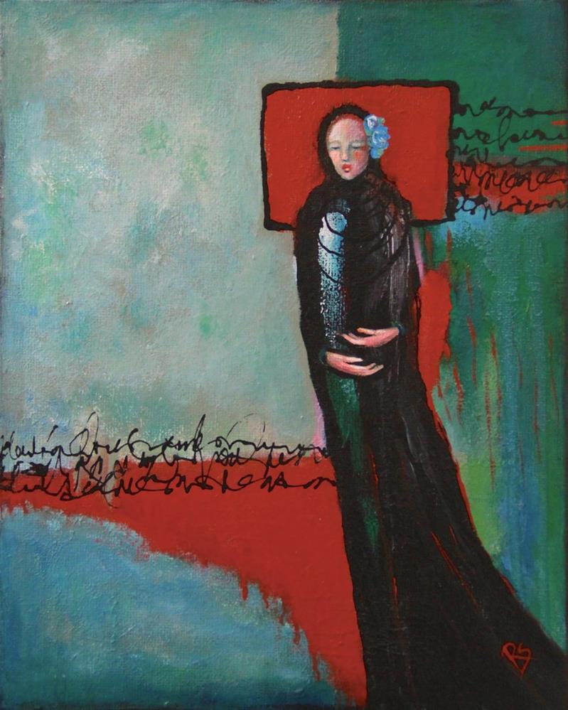"""Love Conquers All"" original fine art by Roberta Schmidt ArtcyLucy"