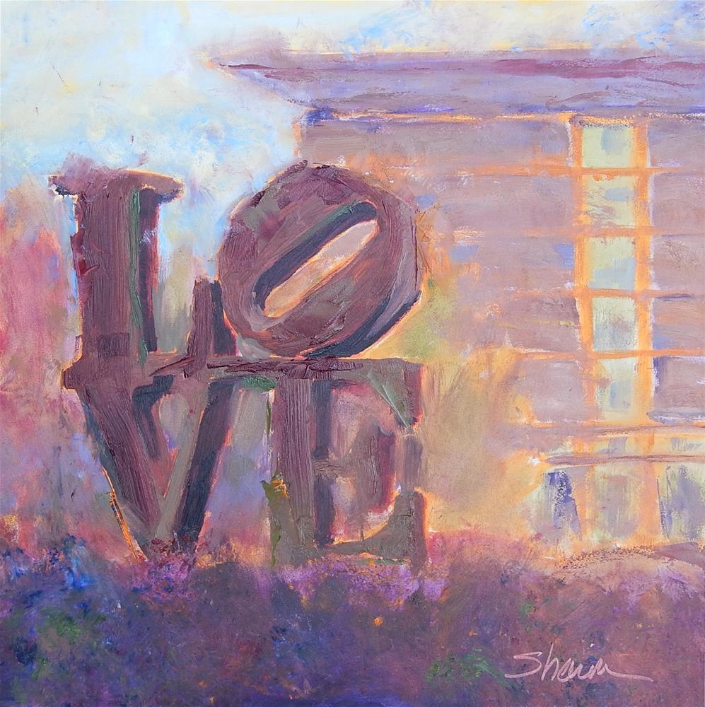 """""""Love"""" original fine art by Shawn Deitch"""