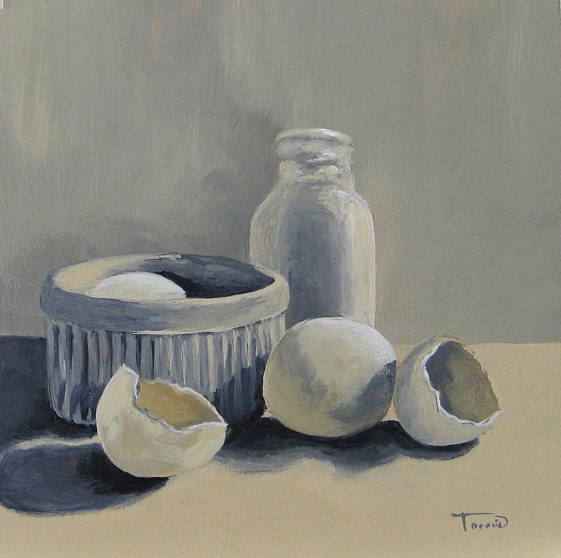 """""""White on White"""" original fine art by Torrie Smiley"""