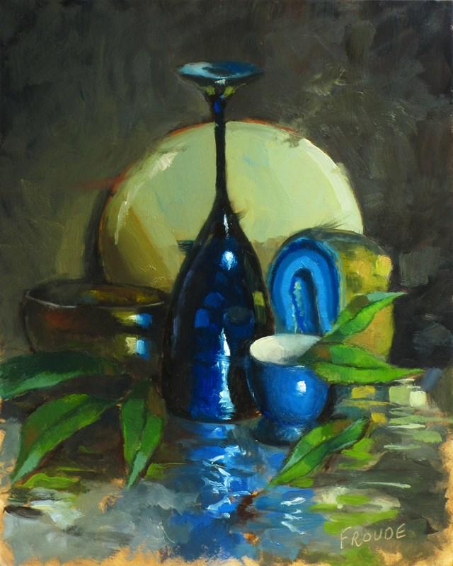 """moonlight"" original fine art by Dave Froude"