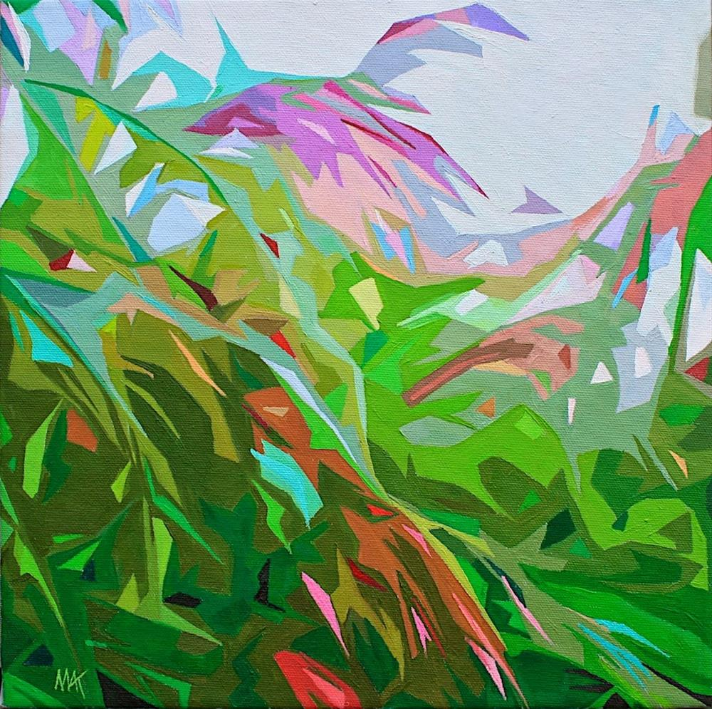 """""""Deconstructed Grass"""" original fine art by Mary Anne Cary"""