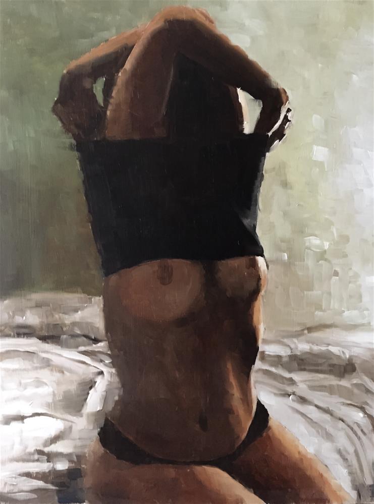 """Nuide 2"" original fine art by James Coates"