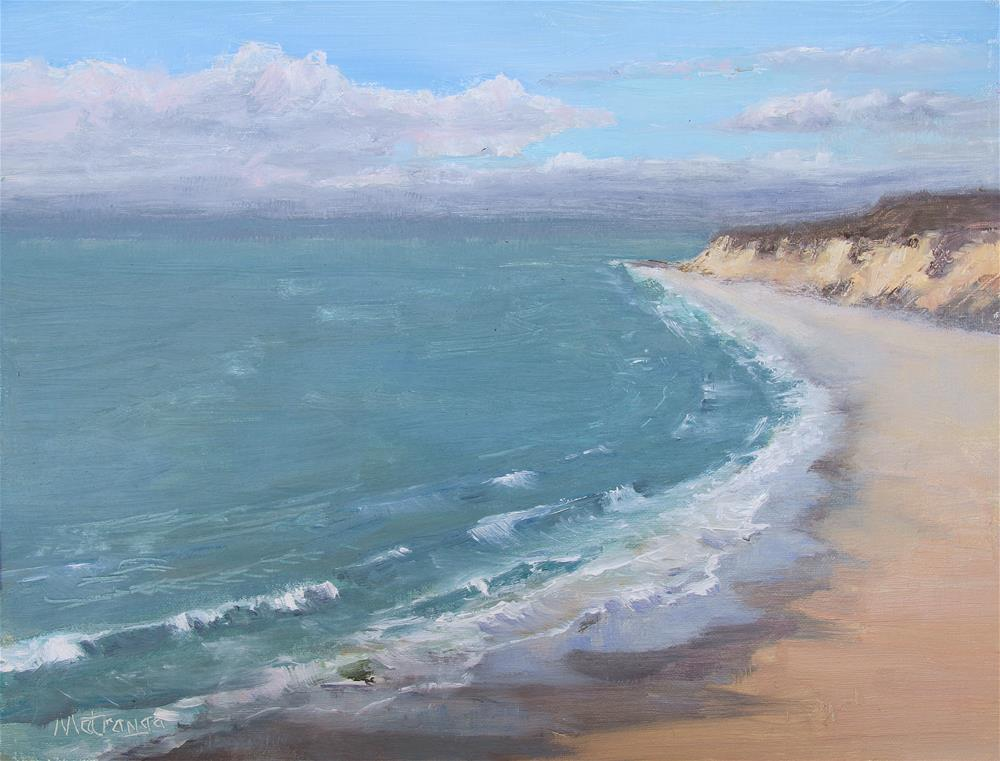 """Crystal Cove - Breaking Dawn"" original fine art by Patricia Matranga"