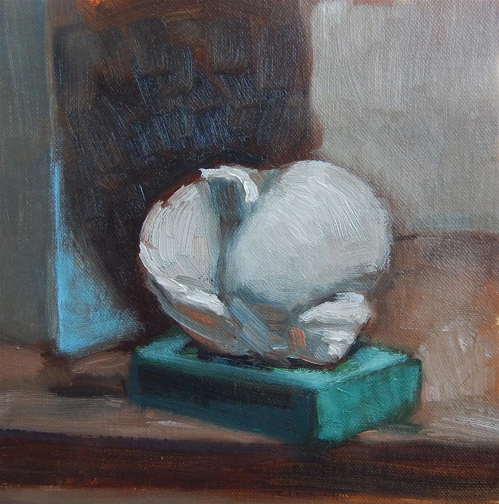 """Shell in Shadow"" original fine art by Megan Schembre"