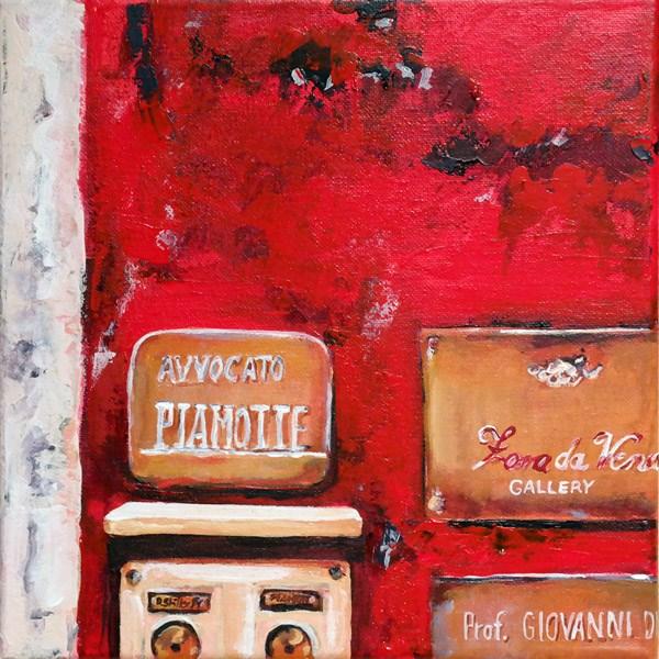 """""""0973 Avvocato"""" original fine art by Dietmar Stiller"""