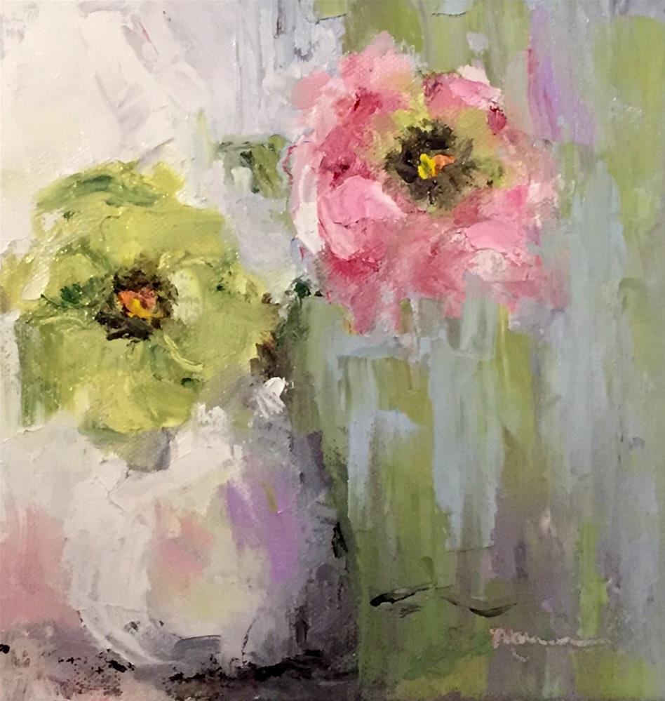 """Spring Has Sprung"" original fine art by Marcia Hodges"