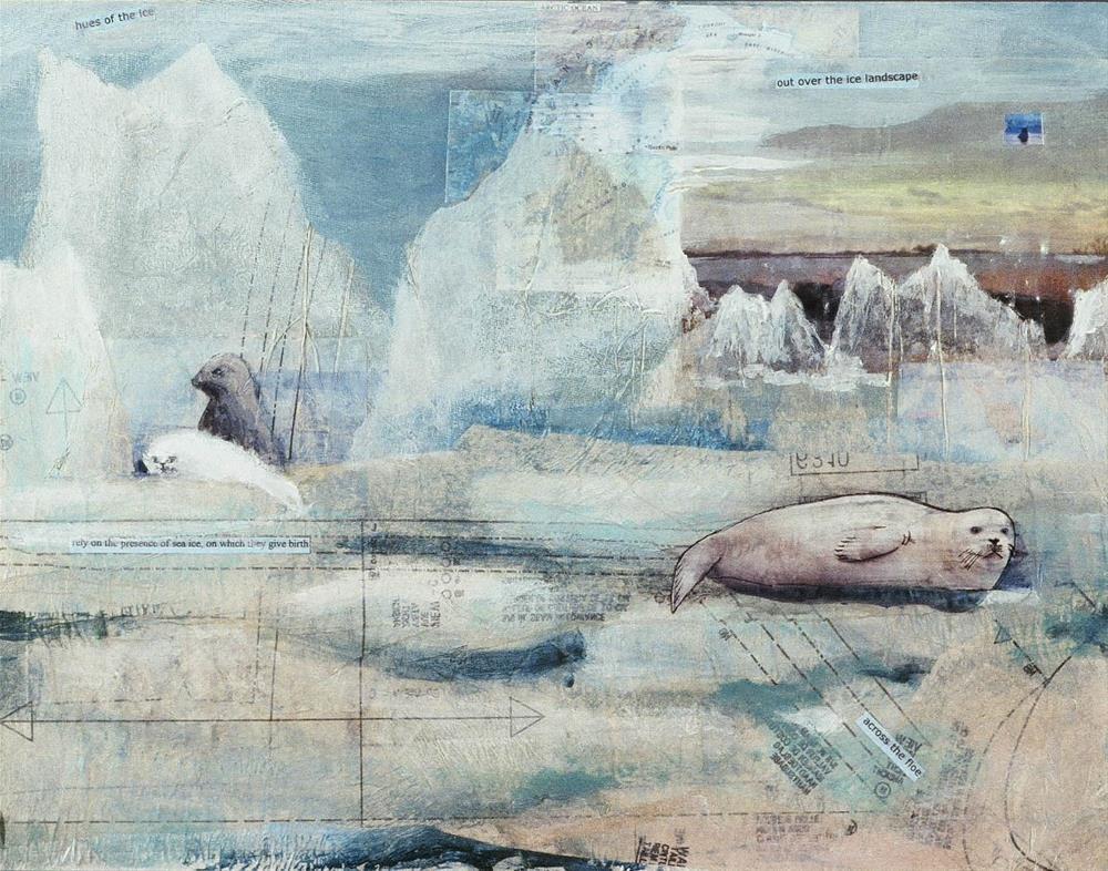 """Seal 001"" original fine art by Marie Lynch"