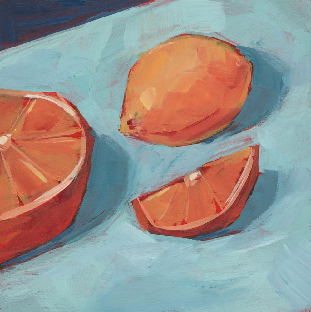 """0995: Citrus Kick"" original fine art by Brian Miller"