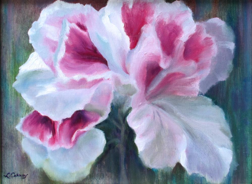 """Pretty in Pink"" original fine art by Linda Carney"