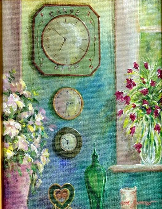 """""""Seize the Day II"""" original fine art by Sue Furrow"""