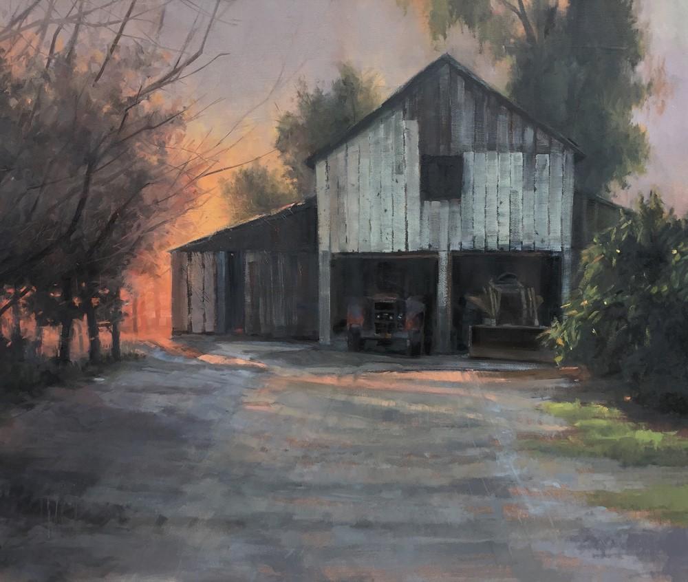 """""""Quietly Fading"""" original fine art by Martha Cowan"""