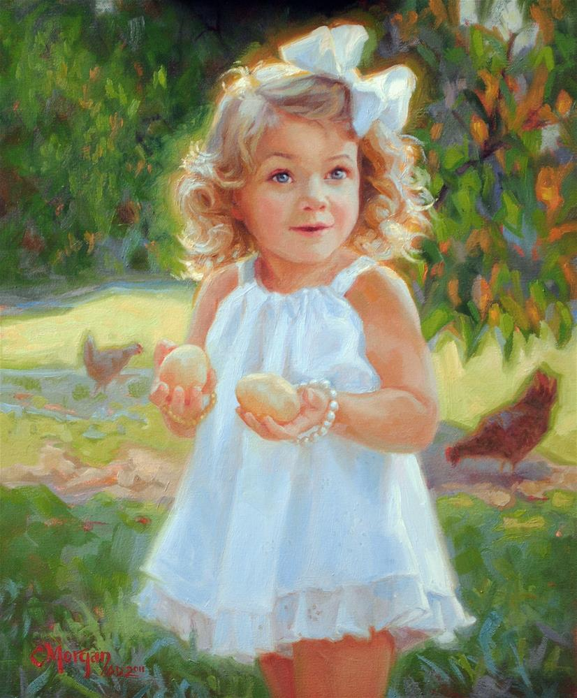 """Lexie"" original fine art by Cecile W. Morgan"