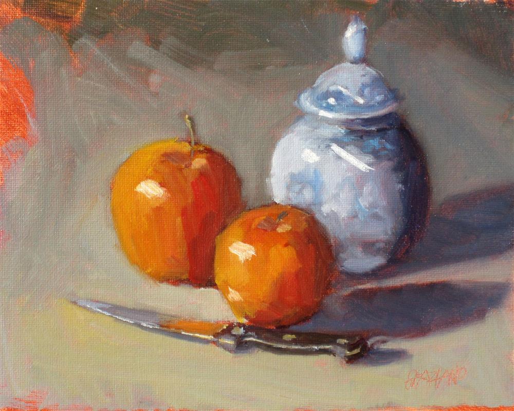 """""""still life demo #1"""" original fine art by Dan Graziano"""