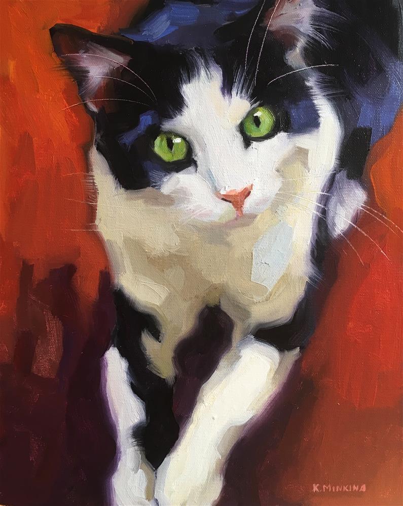 """Adopt384"" original fine art by Katya Minkina"