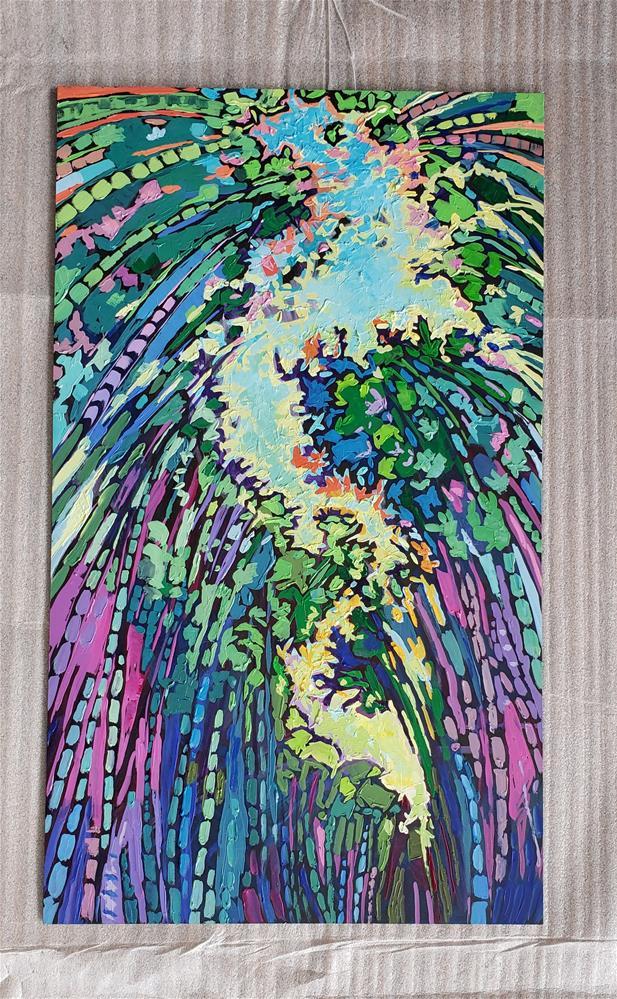 """Bamboo Path"" original fine art by Bhavna Misra"