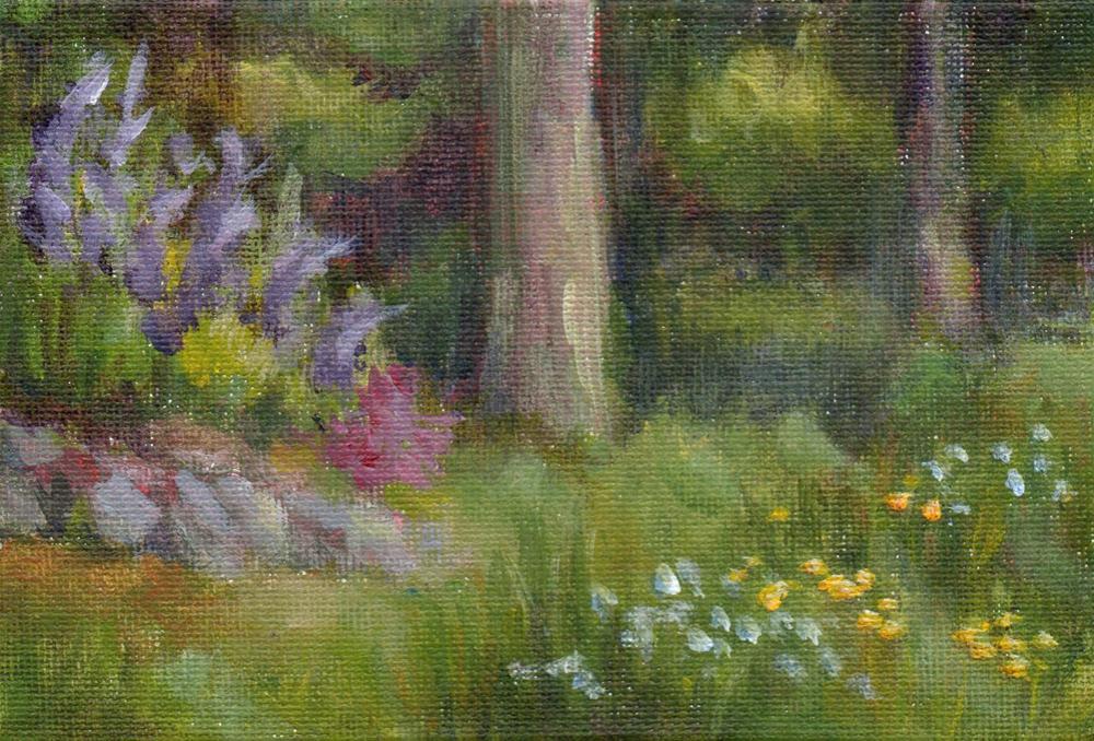 """June Day"" original fine art by Debbie Shirley"