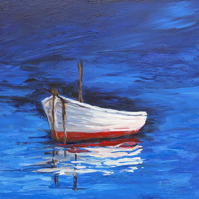 """Adrift"" original fine art by Torrie Smiley"