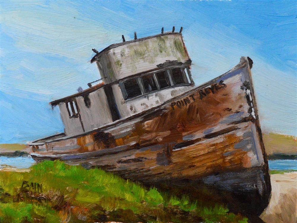 """""""Neglected"""" original fine art by Peter Bain"""