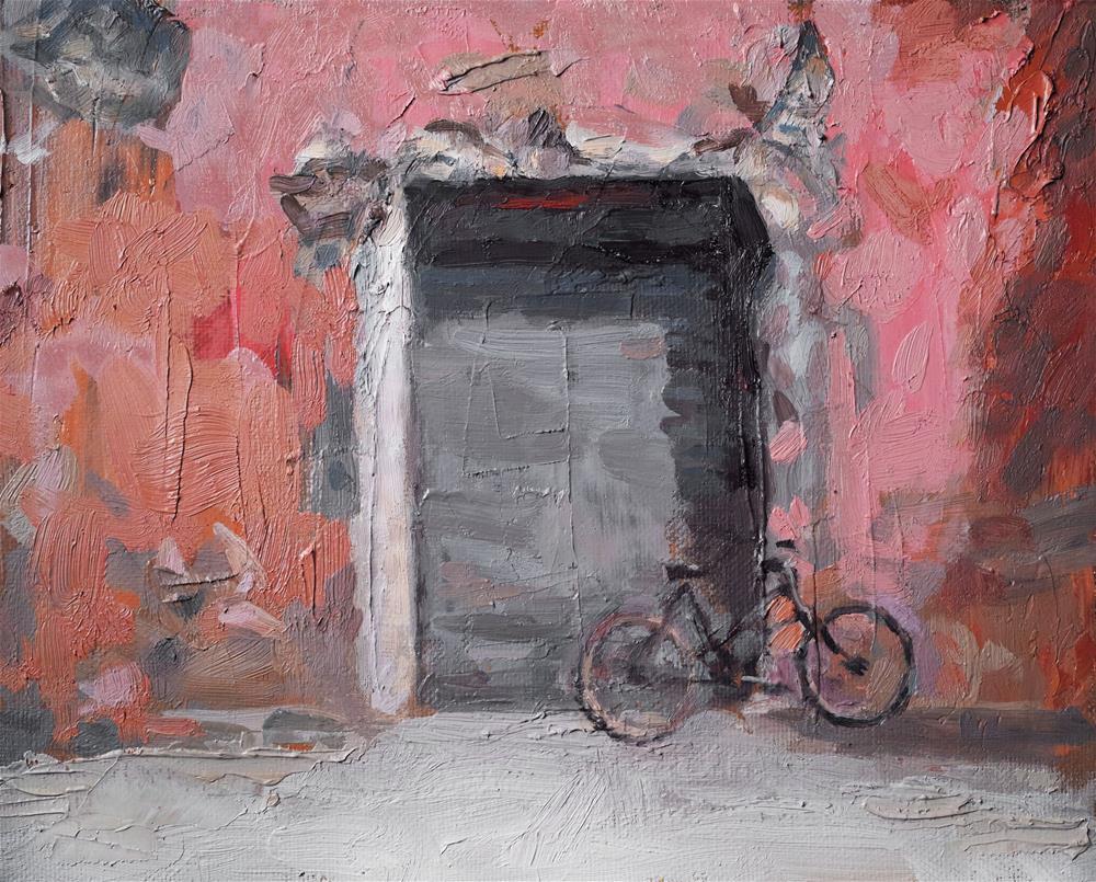 """Old Warehouse"" original fine art by Yuehua He"