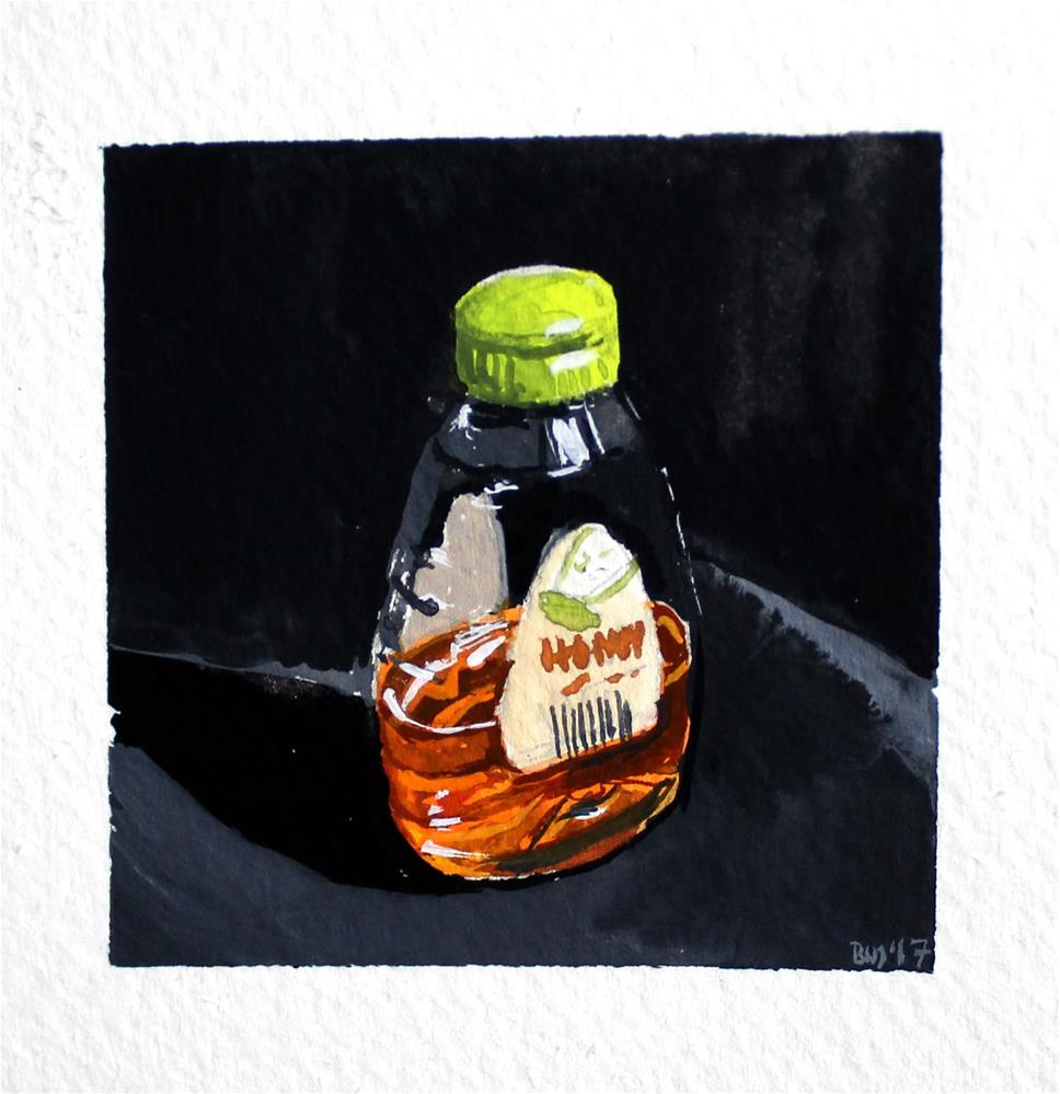 """Honey"" original fine art by Brandy Woodford"