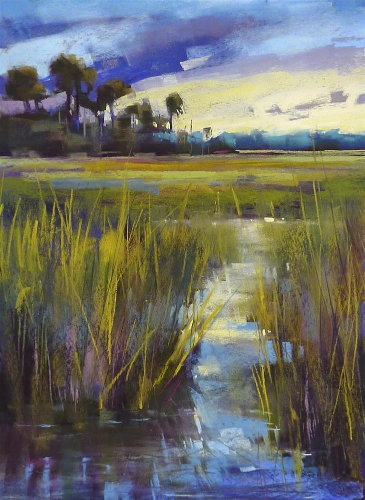 """What is the Best Grade of Uart Sanded Pastel Paper"" original fine art by Karen Margulis"