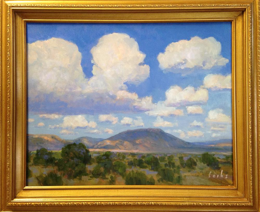 """A Little South of Marathon"" original fine art by David Forks"