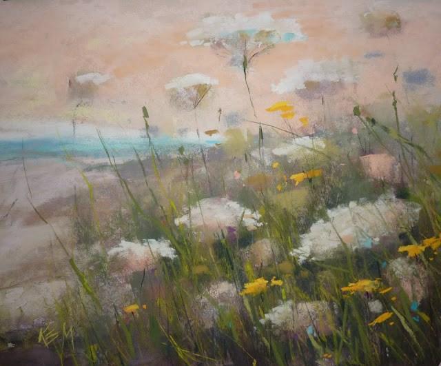 """Make Time for Art This Summer"" original fine art by Karen Margulis"