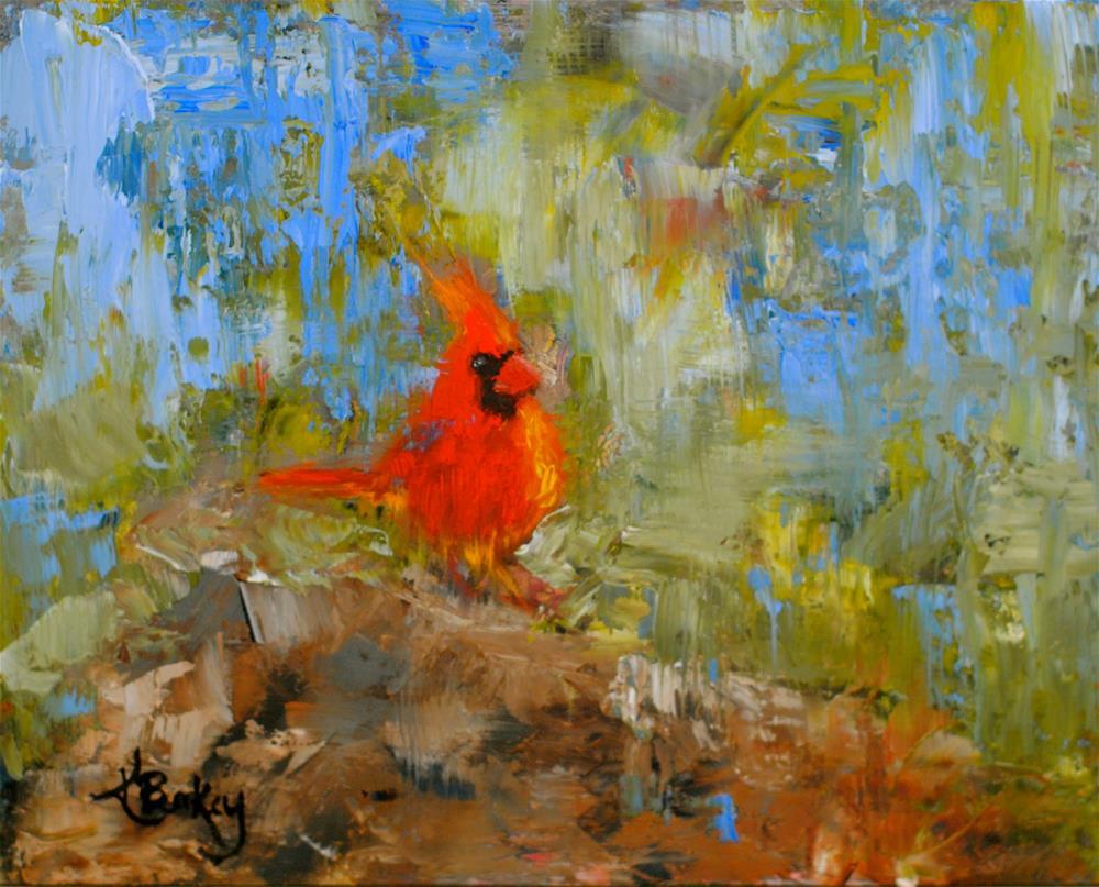 """Big Red"" original fine art by Kelly Berkey"