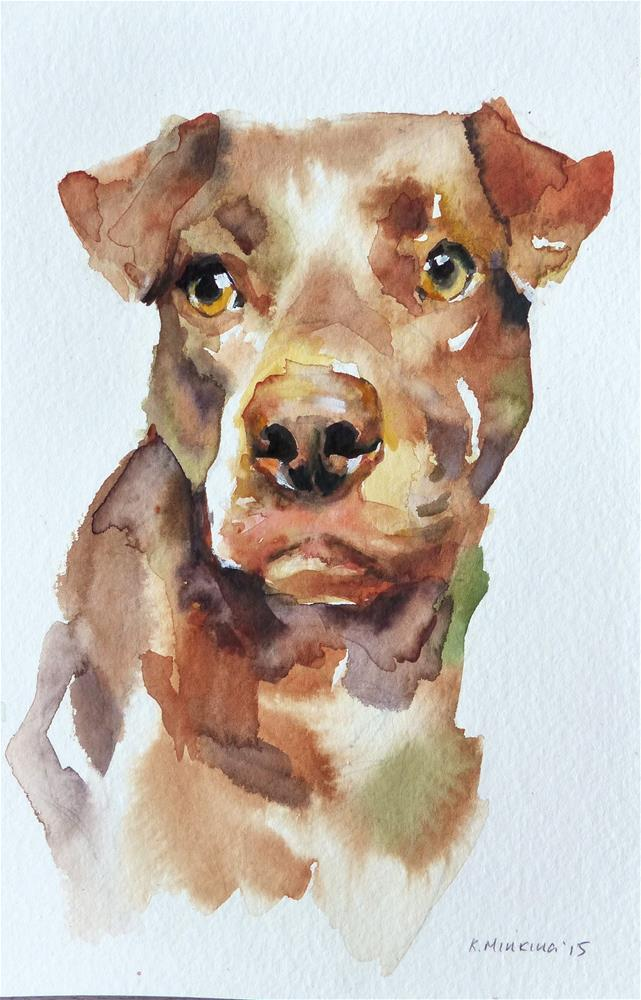 """adopt100"" original fine art by Katya Minkina"