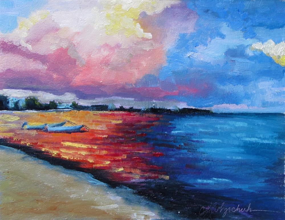 """Ramona's View"" original fine art by Christine Holzschuh"